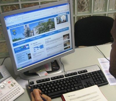 La web augmenta prestacions pel ciutadà