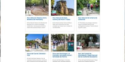 La Xarxa de Parcs Naturals ha obert sis perfils a la plataforma Wikiloc, amb més de 150 rutes senyalitzades