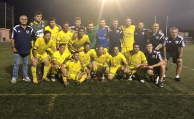 L'AE Moja guanya la 31a Copa Olèrdola en imposar-se a la Joventut Ribetana a la tanda de penals