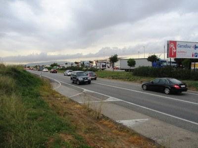 L'Ajuntament d'Olèrdola demana un pas de vianants per a creuar la n340 al polígon de Sant Pere Molanta