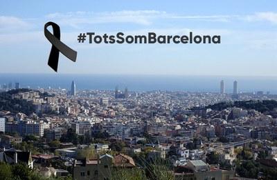 L'Ajuntament convoca al migdia 5 minuts de silenci per les víctimes de l'atemptat de Barcelona
