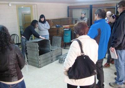 Imatge d'arxiu d'una sessió de formació vinculada al lliurament dels compostadors