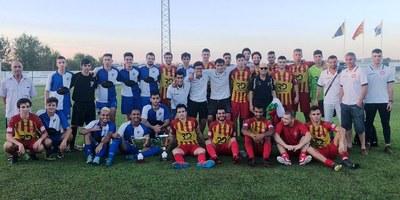 L'Atlètic Vilafranca  guanya amb rotunditat la 32a Copa Olèrdola de futbol
