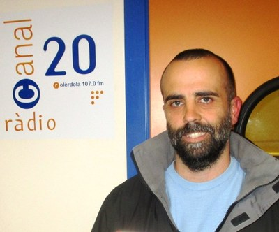 Juanma Samblás, regidor de medi natural de l'Ajuntament d'Olèrdola