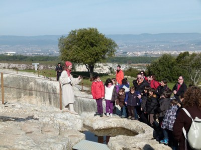 Les activitats al Parc d'Olèrdola inclouen com a novetat una proposta dedicada al món del vi
