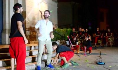 Les crítiques al sou de l'alcalde protagonitzen els versots dels Diables de Moja