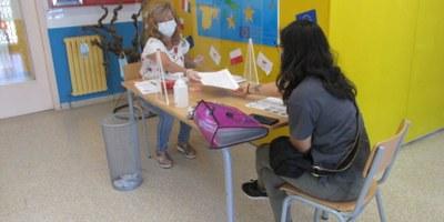 Les escoles Circell i Rossend Montané estan atenent preinscripcions presencials