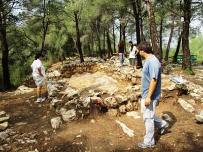 Les excavacions al Pla dels Albats refermen la importància de la ciutat medieval d'Olèrdola