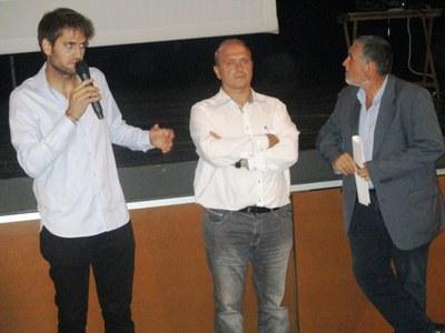 L'alcalde Lucas Ramírez, intervenint en l'acte de presentació del projecte