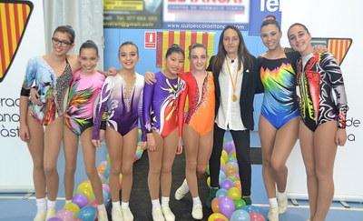 Les gimnastes d'Olèrdola es classifiquen per la 2a fase de la Copa Catalana de Gimnàstica Aeròbica