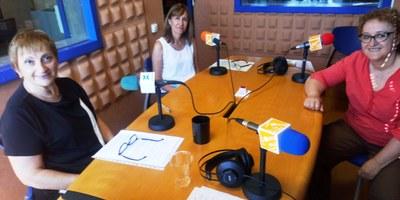 Les infermeres Helena Mestra, Rosa Miret i Imma Tort explicaran en el pregó de la FM de Moja com van viure a l'Hospital Comarcal la lluita contra la COVID19