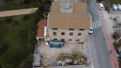 Les obres de reforma de l'edifici de l'Ajuntament avancen a bon ritme