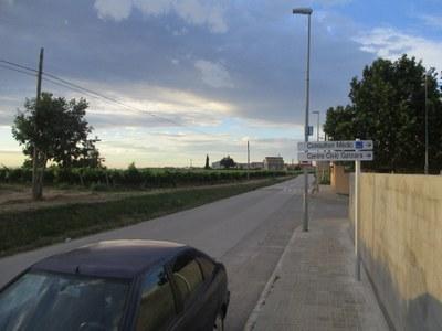 Les obres del camí de vianants entre Sant Pere i Can Ferran es preveuen adjudicar aquest 2018