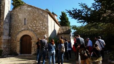 Les Rutes pel Patrimoni d'Olèrdola han continuat aquest dissabte amb una visita guiada a Moja
