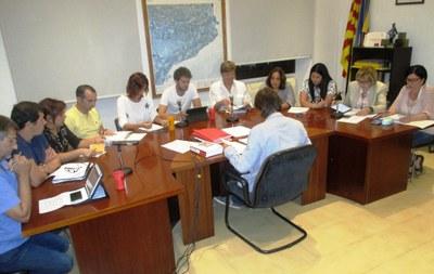 El ple acordava per unanimitat crear la Comissió Informativa d'Assumptes del Ple