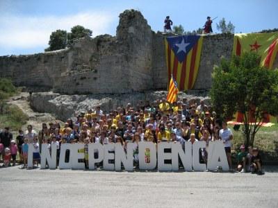 Lluïda presentació a Olèrdola dels 27 grups locals de l'ANC formats a la comarca