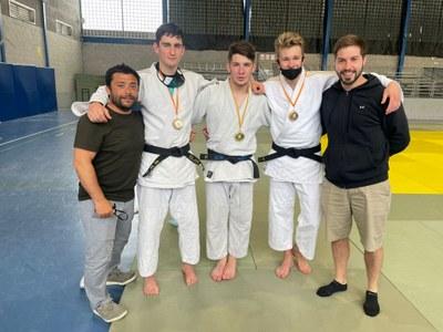 Manel Terraza, del Judo Olèrdola, es classifica  pel Campionat d'Espanya Júnior
