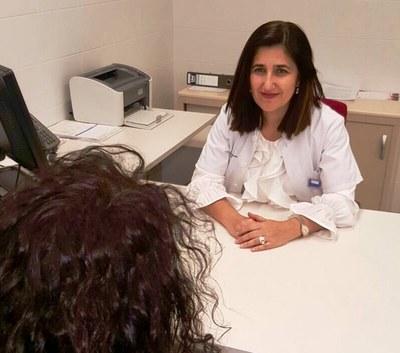 La doctora Meritxell Arenas