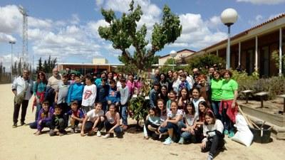 Alumnes de 6è i les seves famílies