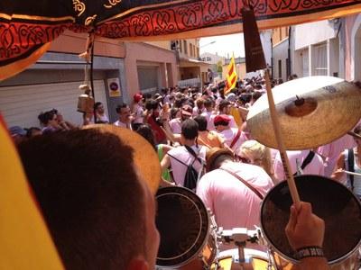 La Timbarada celebrava 14 edicions(foto:Diables Moja)