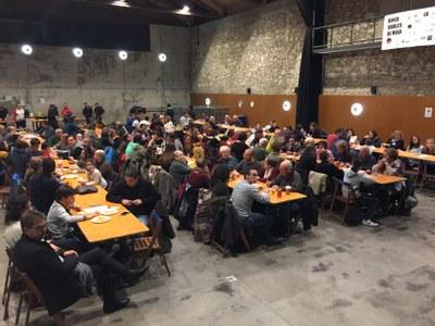 Més de 200 participants en la 8a edició del bingo dels Diables de Moja