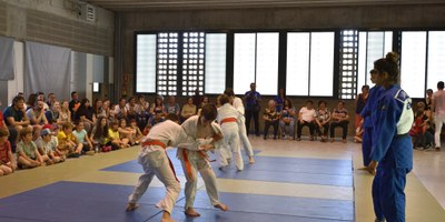 """Més de 200 persones han participat aquest dissabte en la """"Festa de les Famílies"""" de l'escola Rossend Montané"""