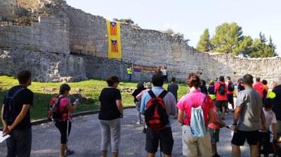 Més de 250 persones en els actes celebrats a Olèrdola per a commemorar l'1 d'Octubre