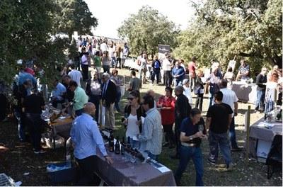 Més de 400 persones gaudeixen de l'Experiència Gran Reserva al Conjunt monumental d'Olèrdola