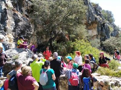 Mig centenar de participants feien aquest dissabte la ruta pel patrimoni d'Olèrdola