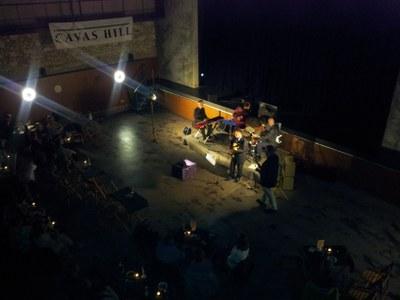 Moment de l'actuació de Xavi Díaz Quartet