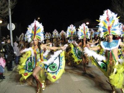 Moja ha estat l'animat centre del Carnaval penedesenc aquest dissabte al vespre