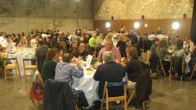 Imatge del sopar de l'any passat