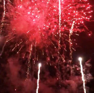 Molta participació i gran nivell dels actes pirotècnics en la Festa Major de Sant Miquel d'Olèrdola