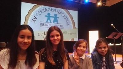 Mònica Tarré, alumna de l'escola Rossend Montané, es classifica per les semifinals del Certamen Nacional de Lectura en Veu Alta