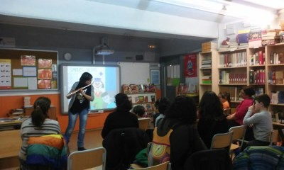 """Musical i pedagògica presentació de """"Somriures valents"""" al servei de Biblioteca Oberta d'Olèrdola"""