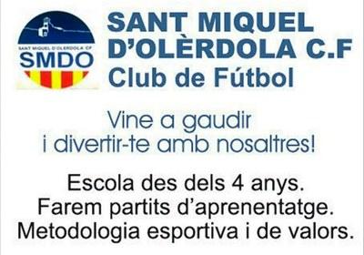 Neix el Sant Miquel d'Olèrdola Club de Futbol