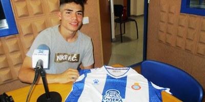 Nico Melamed, jugador juvenil veí de Can Trabal, s'incorpora aquest dimecres a la pretemporada del primer equip de l'Espanyol