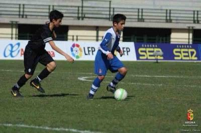 Nico Melamed, veí de Can Trabal, guanya amb l'Espanyol el Torneig Internacional d'Arona de futbol 7