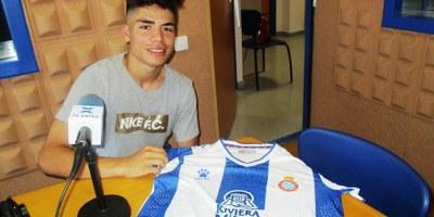 Nico Melamed, veí de Can Trabal, ha debutat amb l'Espanyol a 1a Divisió aquest dijous