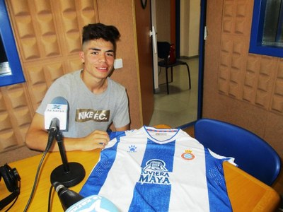 Nico Melamed, en una imatge d'arxiu a Canal 20-Ràdio Olèrdola