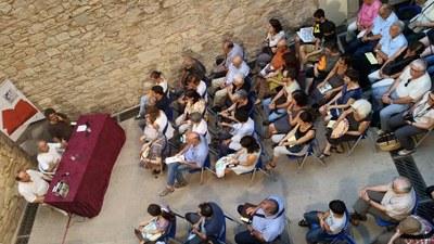 """Nombrós públic en la presentació a Barcelona del còmic """"Terra de frontera. Olèrdola 1058"""""""