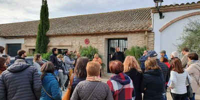 Nou èxit de la visita pel patrimoni de Viladellops