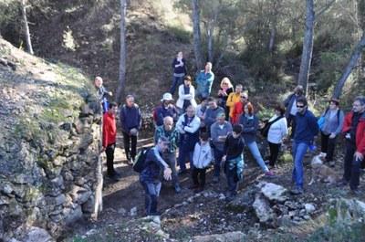 Nou èxit de participació en les visites guiades pel patrimoni d'Olèrdola que convoca l'Ajuntament