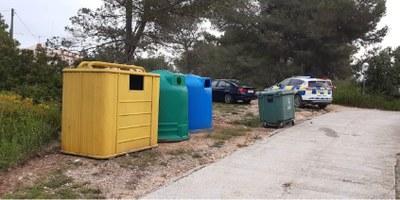 Nou punt de recollida selectiva al barri de Cal Segarra