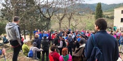 """Nova caminada del cicle """"A cent cap als cent"""" amb la participació de gent gran del municipi"""