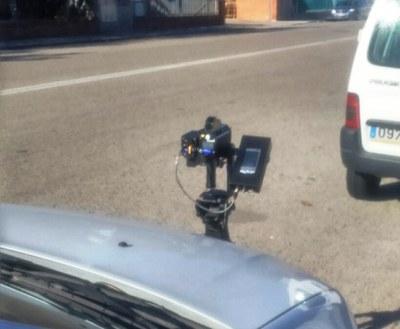 Nova campanya de control de velocitat a Olèrdola en vies de competència municipal