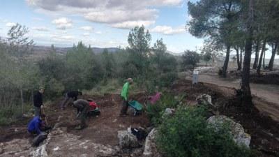 Nova campanya d'excavacions al Conjunt històric d'Olèrdola per a conèixer l'urbanisme i la vida del barri medieval fora muralles