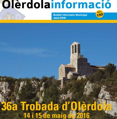 """Nova edició del butlletí municipal """"Olèrdola Informació"""""""