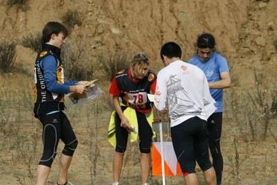 La cursa posa a prova l'orientació dels participants