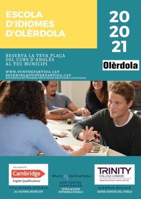 Obertes les inscripcions a l'Escola d'Idiomes d'Olèrdola